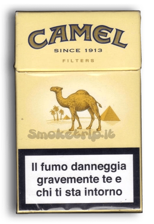 Sigarette Camel Gialle