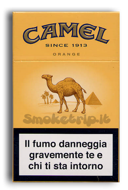 Sigarette Camel Orange.