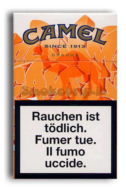 Sigarette Camel Orange Special
