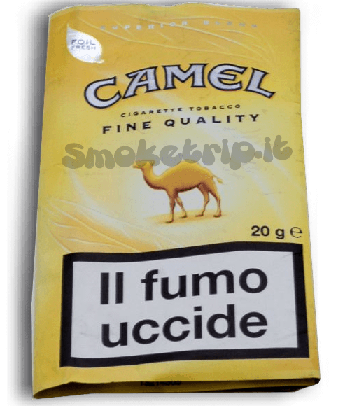 Recensione Tabacco Camel Giallo