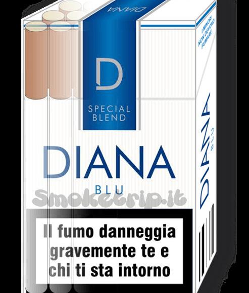 Sigarette Diana Blu Morbide: La Recensione