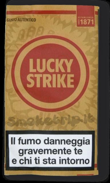 tabacco lucky strike gusto autentico