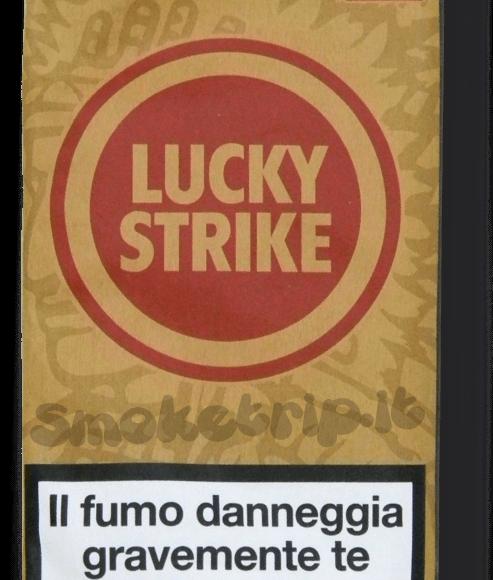 Recensione Tabacco Lucky Strike Gusto Autentico Rosso.