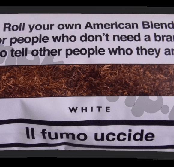 Recensione Tabacco Senza Nome Bianco