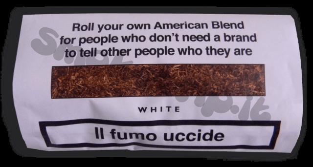 tabacco senza nome bianco