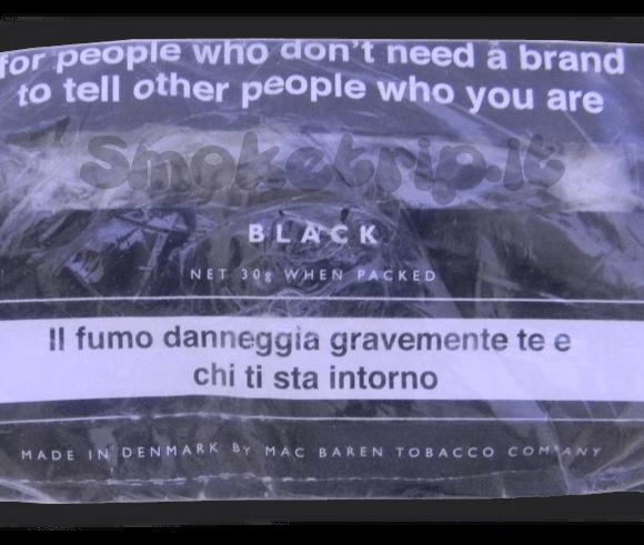 Recensione Tabacco Mac Baren Senza Nome Nero