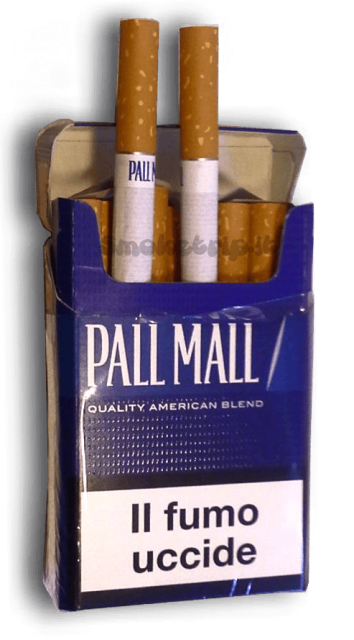 tabacco pall mall blue