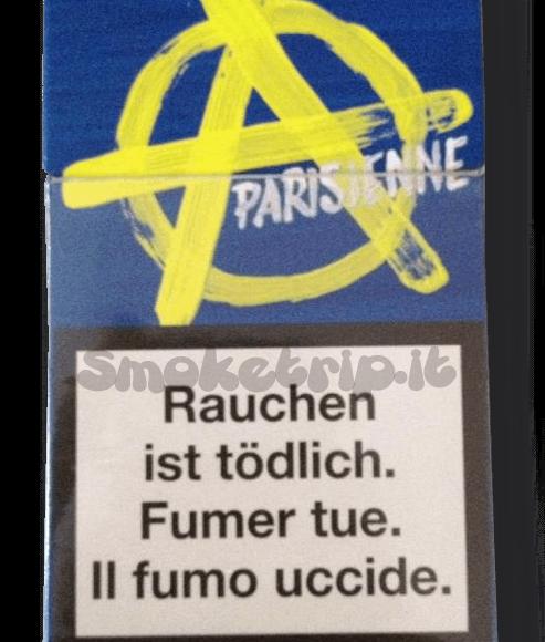 Sigarette Parisienne Blu (Amateur Design): La Recensione.