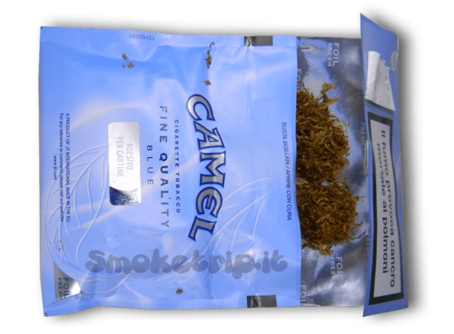 tabacco camel blue