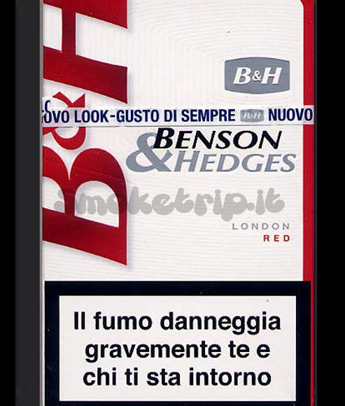 Sigarette Benson & Hedges Rosse: La Recensione.