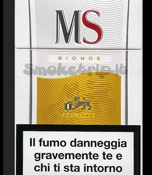 Sigarette Ms Bionde: La Recensione.