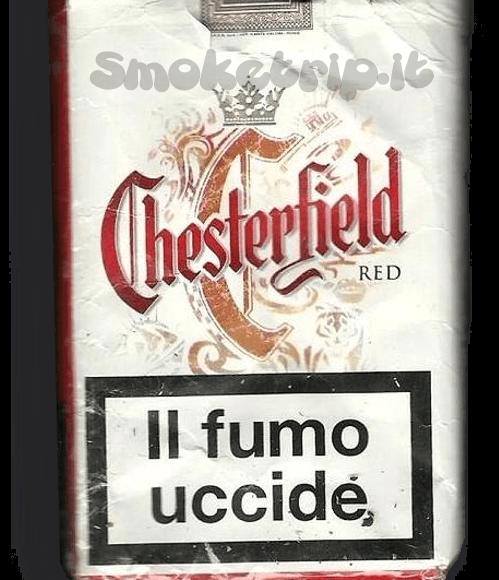 Sigarette Chesterfield Rosse: La Recensione.