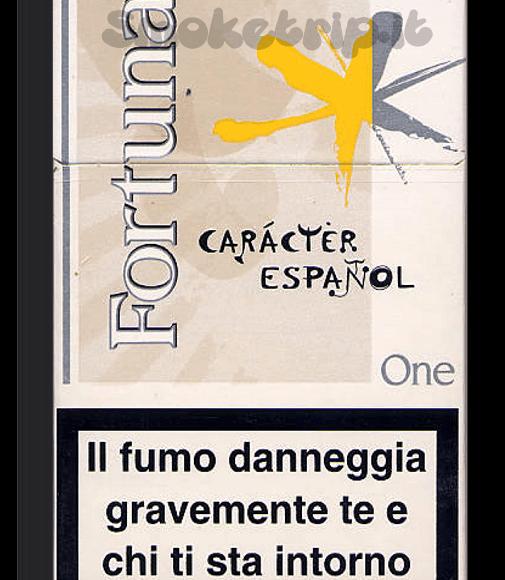 Sigarette Fortuna One: La Recensione.