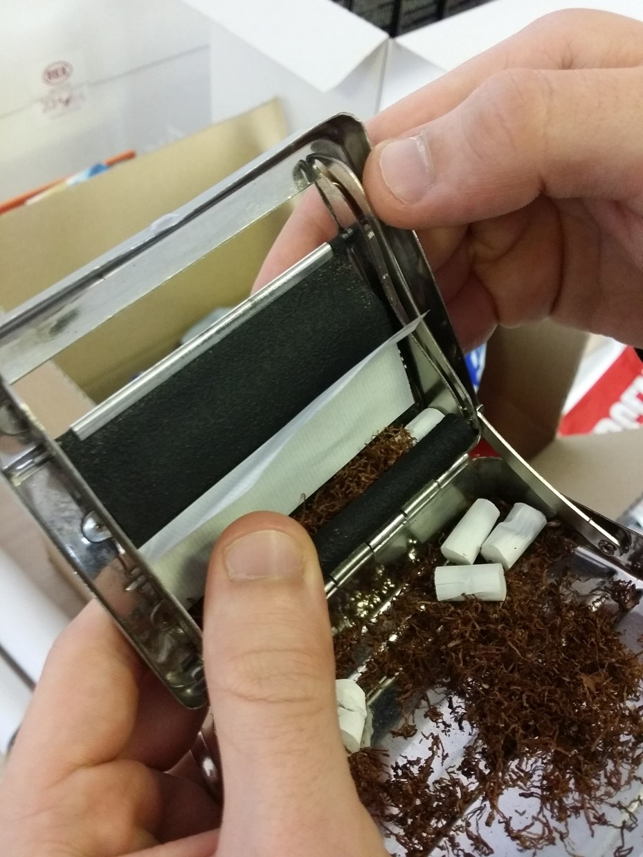 macchinetta sigarette