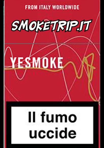 Sigarette YeSmoke Rosse 0.8: La Recensione.