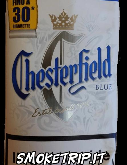 Tabacco Chesterfield Blue Volume: La Recensione