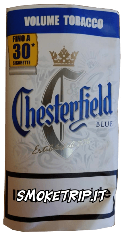 Tabacco Chesterfield Blue Volume