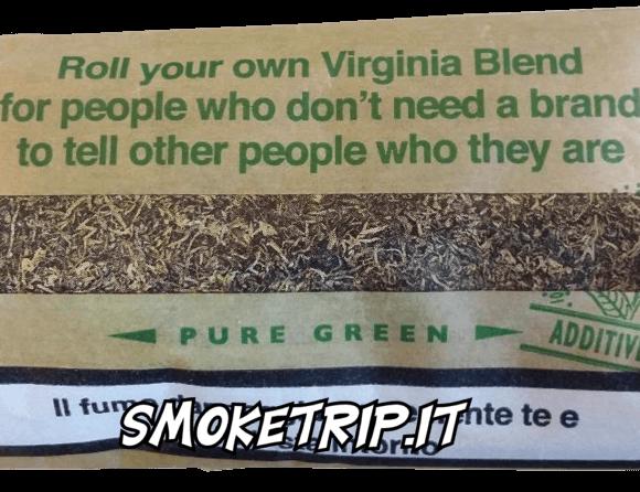 """Tabacco Mac Baren """"Senza Nome"""" Pure Green: La Recensione"""