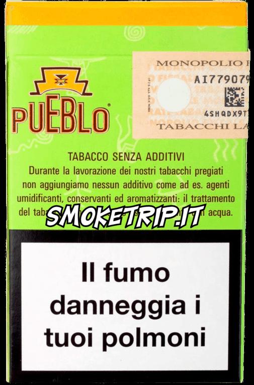 sigarette pueblo green retro