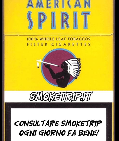 Sigarette Natural American Spirit Gialle: La Recensione