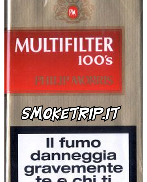 Sigarette Philip Morris Multifilter Rosse 100's: La Recensione.