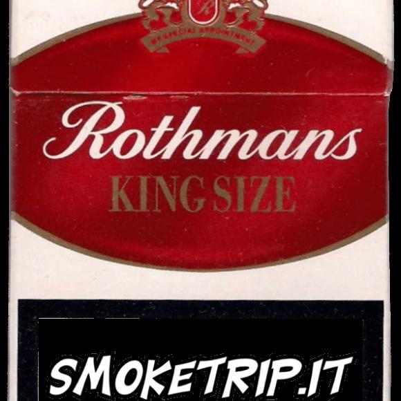 Sigarette Rothmans Rosse: La Recensione.