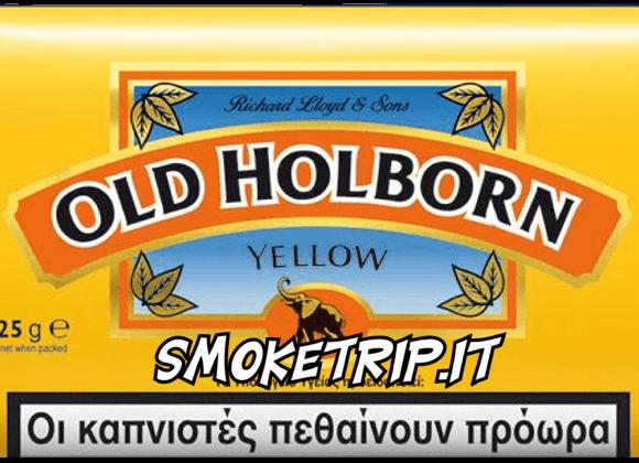 Tabacco Old Holborn Giallo: La Recensione