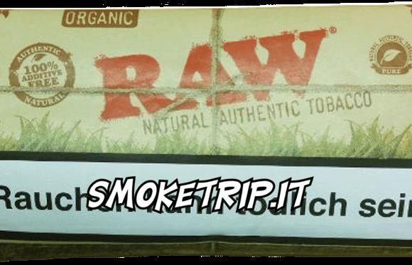 Tabacco Raw Organic: La Recensione
