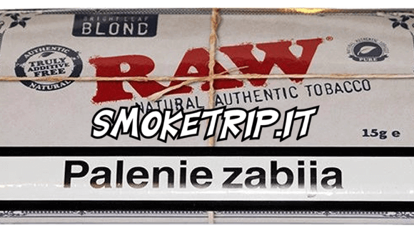 Tabacco Raw Blond: La Recensione