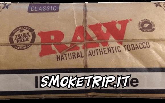 Tabacco Raw Classic: La Recensione