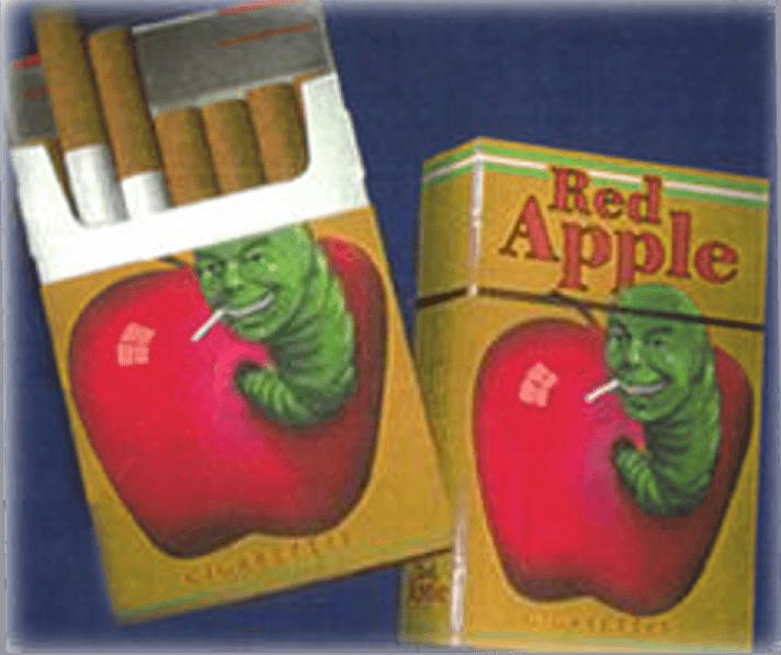 sigarette red apple