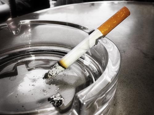 combustione sigaretta