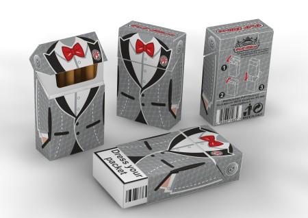 portapacchetti di sigarette
