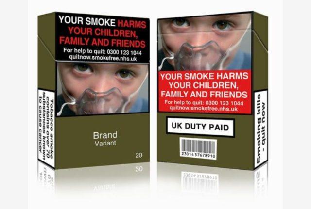 pacchetti di sigarette nuovi con immagini shock