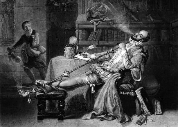 storia del tabacco: immagine d'archivio