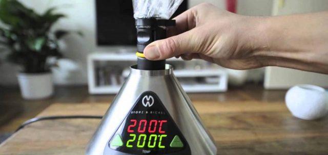 vaporizzatore volcano temperature