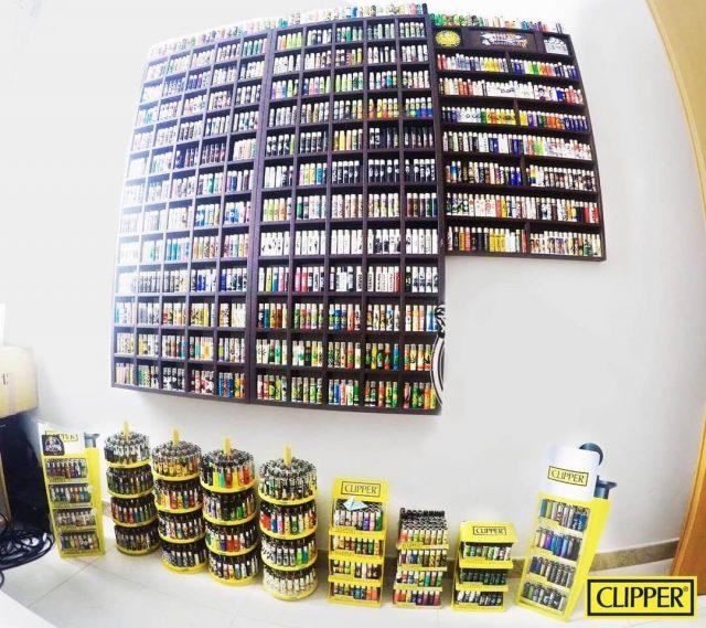 collezione di accendini clipper