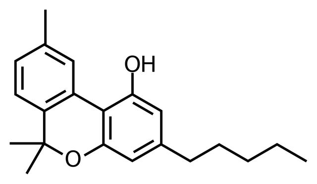 molecola chimica cbg cannabigerolo
