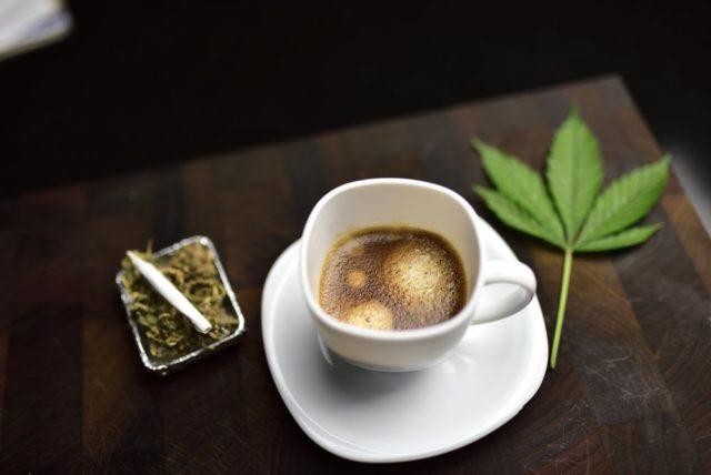 caffè e cannabis