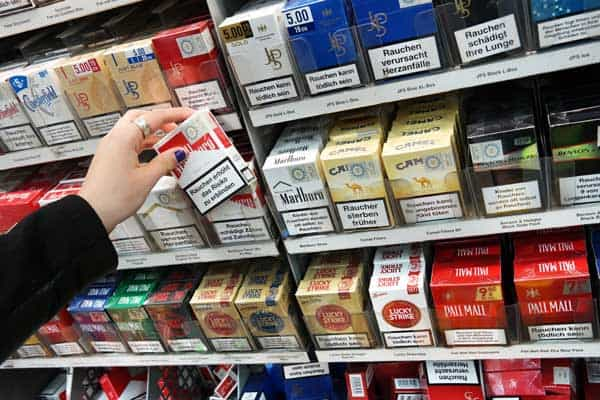 aumento sigarette 2018