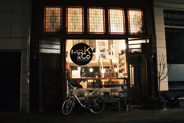 Mr. K and Co coffeshop amsterdam