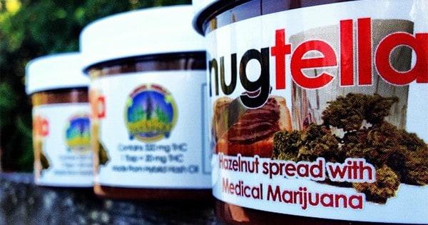 Nutella alla marijuana