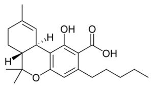 thca formula chimica