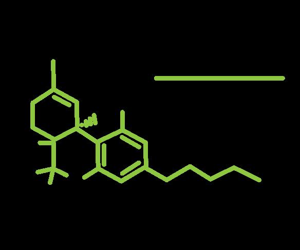 THC formula chimica