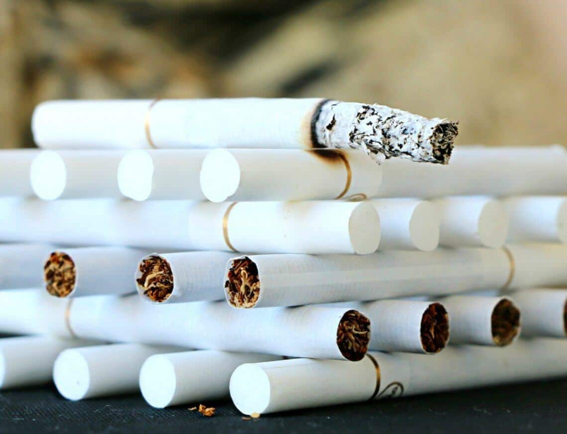 catrame tabacco dentro le sigarette