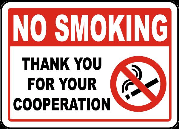 smoke free - area libera dal fumo