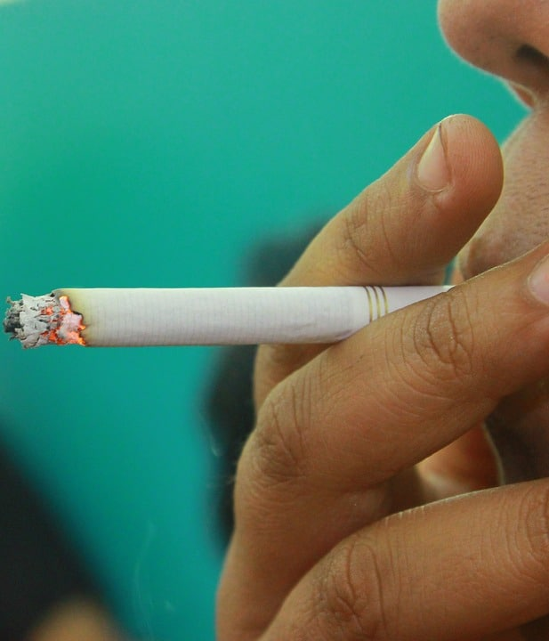 sigaretta combustione