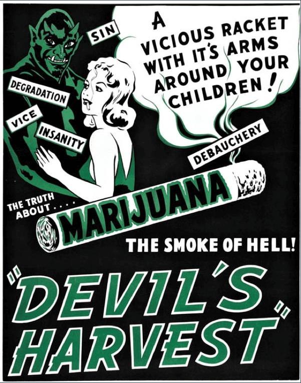 marijuana act proibizionismo