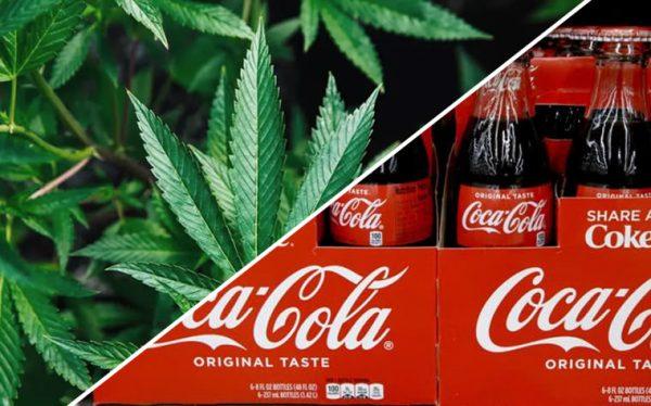 coca cola alla cannabis