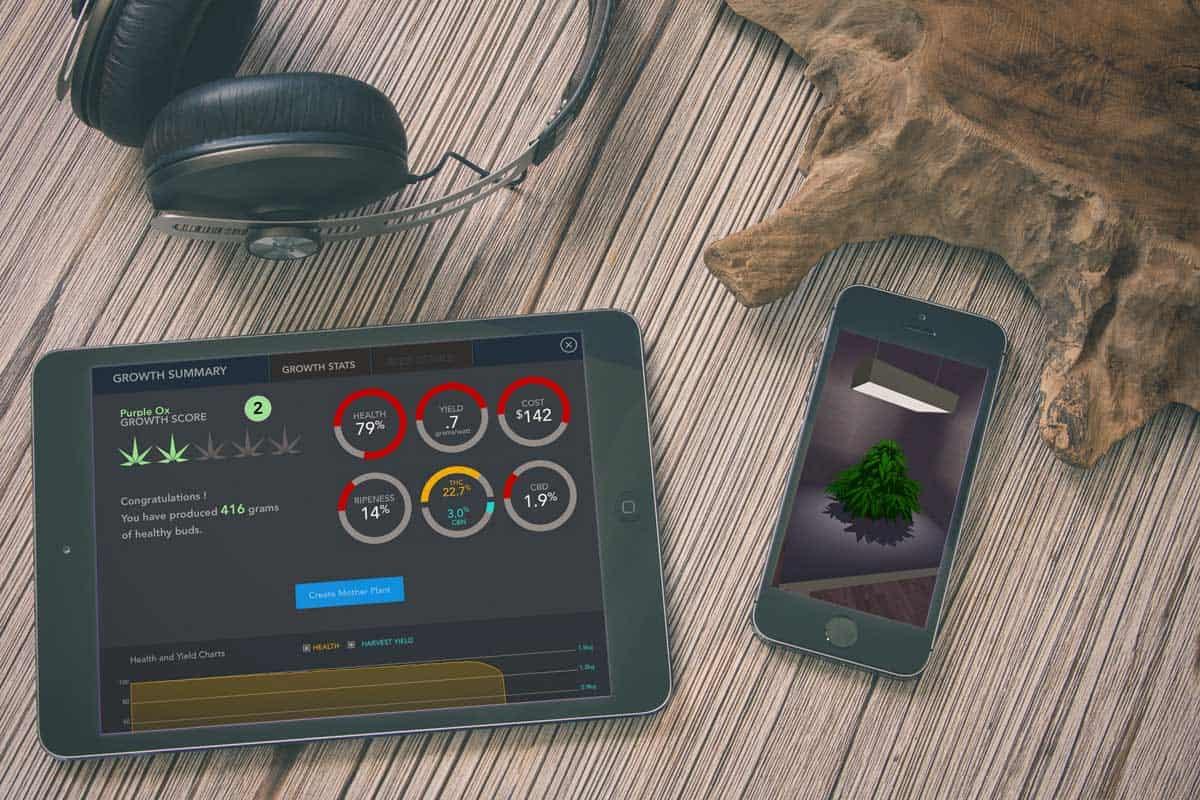 simleaf cannabis app